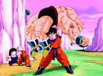 Son Goku bat Nappa